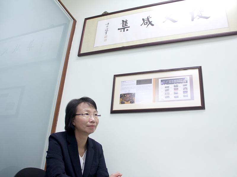 梁鳳兒校長重視學生自律性,培育品格。