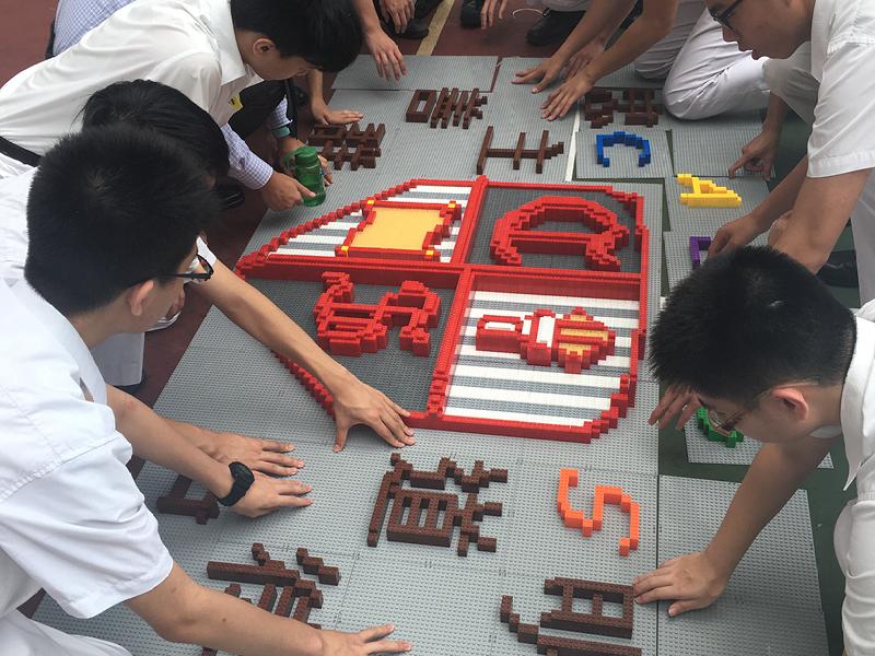 何玉芬校長樂於為學生製造機會,讓學生開拓更廣闊的視野,找出自己興趣