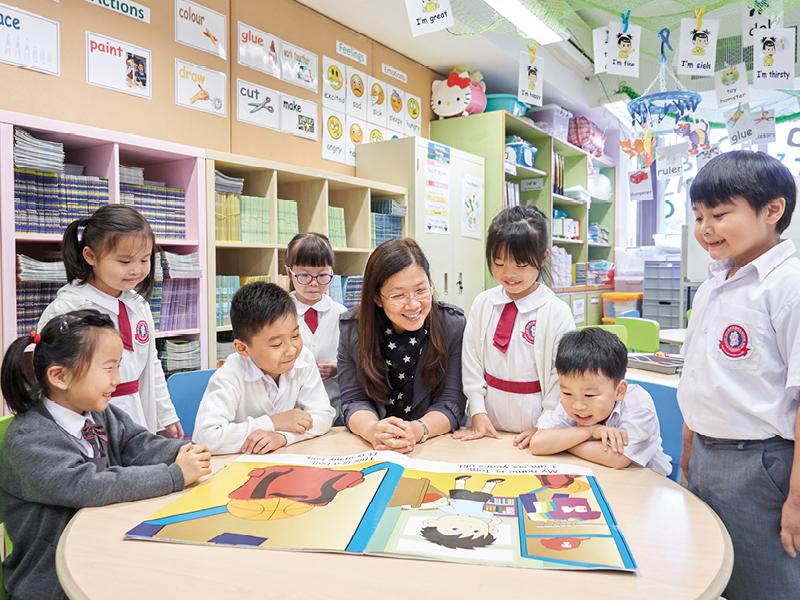 學生們變得更有自信,這正貫徹順德聯誼總會梁潔華小學的使命:「積極自信、關愛樂群」。