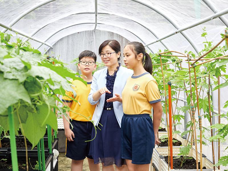 楊校長的辦學理念一直十分清晰,堅信品德教育應從小培養。