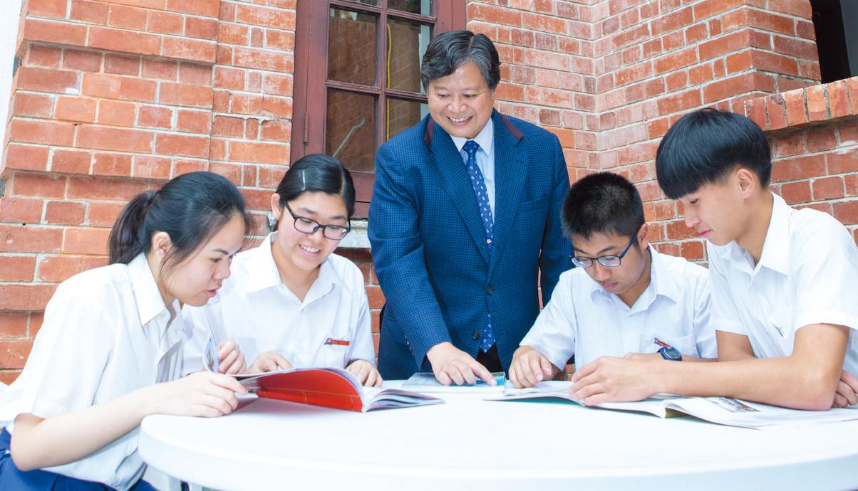「處處是教室,時時可學習」是長洲官立中學教學的理念。