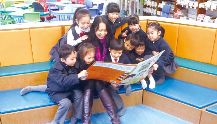 林美霞校長分享,學校為孩子提供多元化校園學習。
