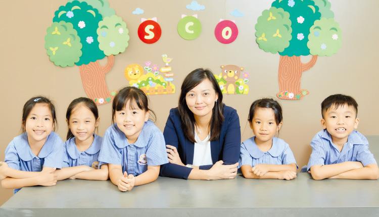 梁敦瑜校長表示,裝備孩子面對未來世界。