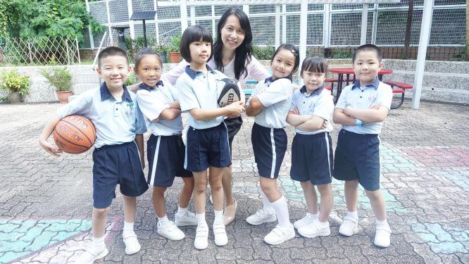 學校鼓勵學生參與不同活動