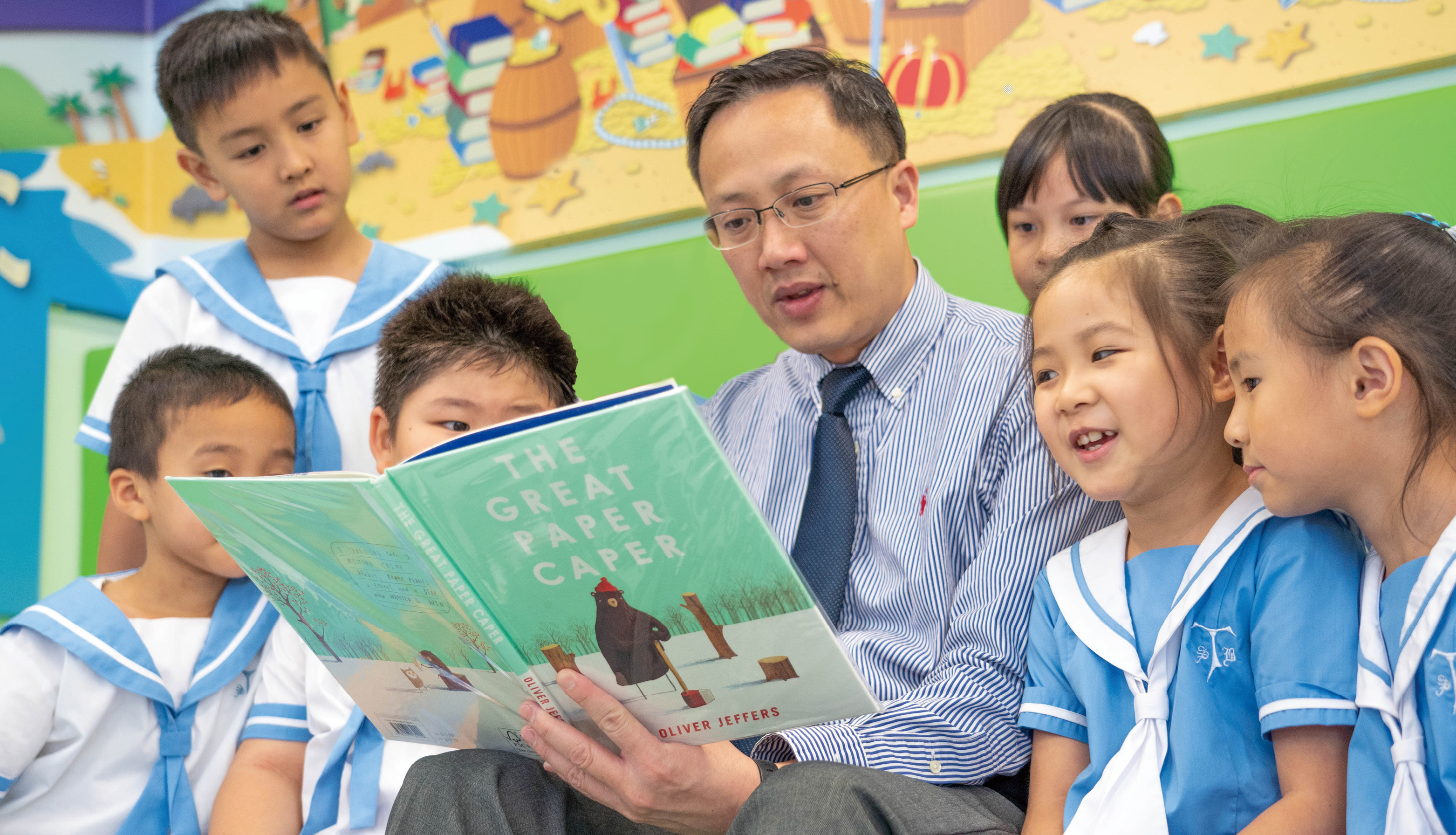 學生從閱讀中找到樂趣,主動汲取課外知識。