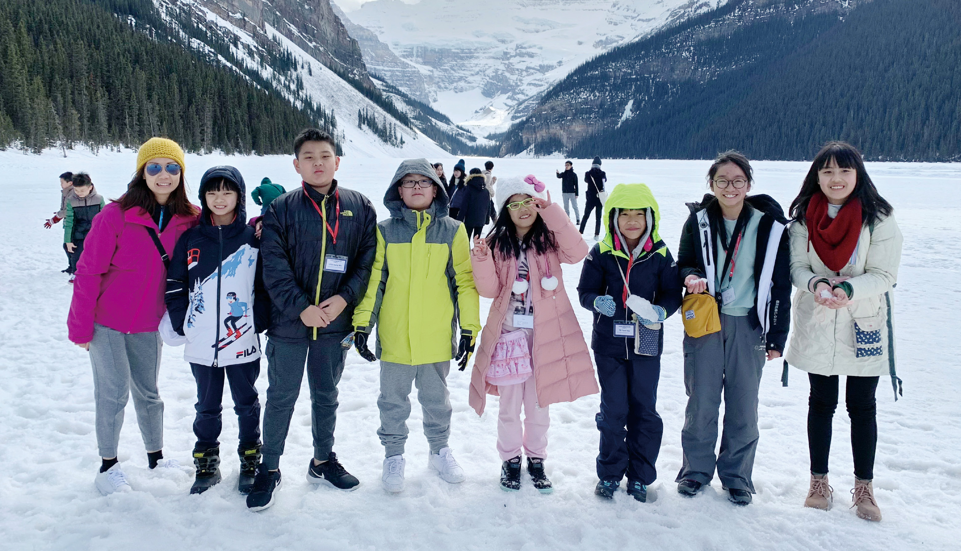 同學們遠赴加拿大交流,擴闊眼光。