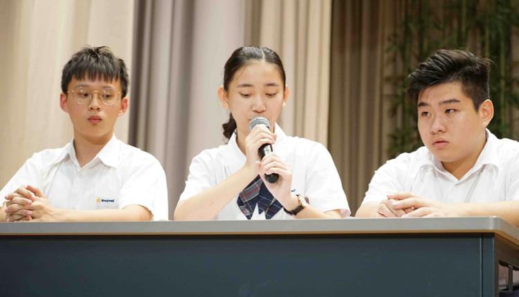 通過學生會質詢對辯,可訓練口才和應對能力,培養自主獨立和反思的能力。
