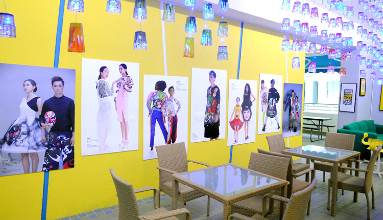 時裝及美術設計是學校重點科目,為社會培育專業人才。