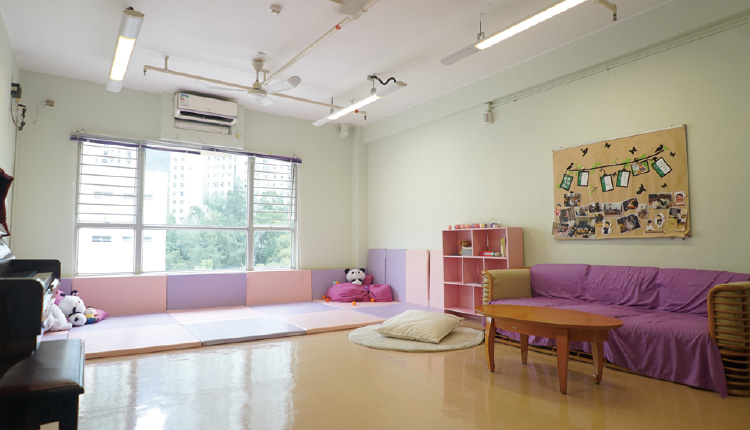 學校精心設計宿舍每個角落,希望為學生提供寧靜的環境,讓他們感受到家的溫暖。