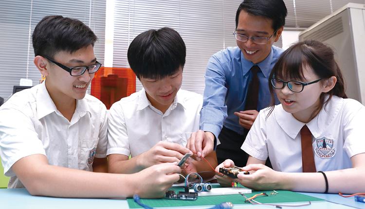 學校打造創科模組學習中心,購入更多新設備,豐富學生學習。