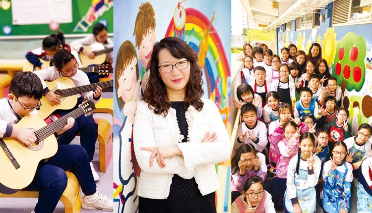「學校透過全人教育,積極為學生建構學習平台,培育他們成為才德兼備、合群、樂於擁抱理想,且能終身學習的有用之才。」基督教香港信義會葵盛信義學校  徐起鸝校長