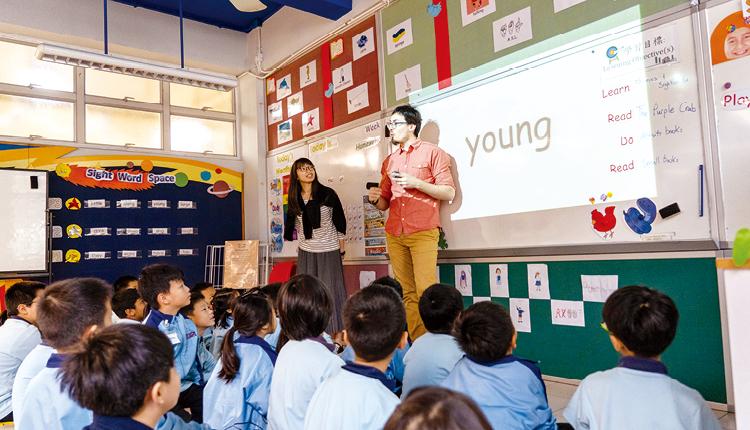 增聘外籍老師,創造更豐富的語言學習環境。