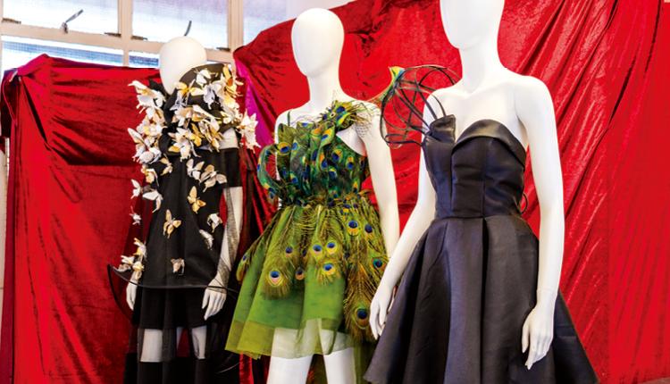 學生有機會參與不同類型的時裝設計比賽,把作品展示人前。