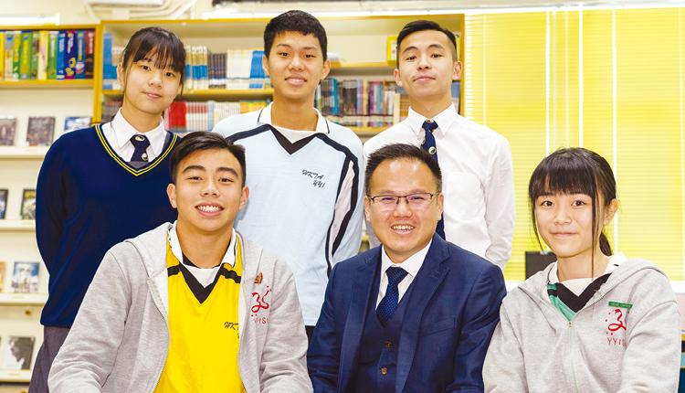 「學校為學生提供平台,協助他們建立自信和成功感等終身學習的元素,讓他們能遇強愈強,不會懼怕任何挑戰。」香港道教聯合會圓玄學院第一中學  簡偉鴻 校長