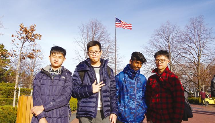 學生前往美國深度交流兩星期,並遊覽當地名勝。