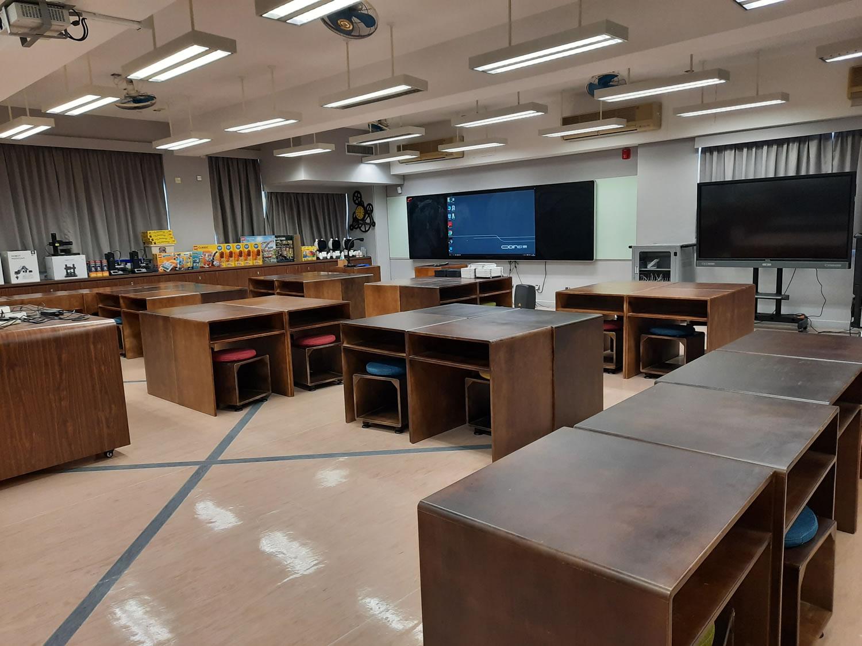 聖愛德華天主教小學投放不少資源在STEM發展,特設STEM Lab供同學實習。