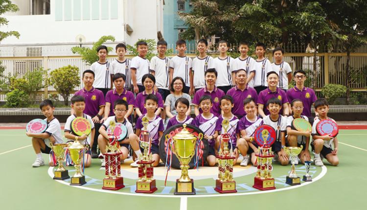躲避盤校隊在國際性及全港比賽中戰績彪炳。