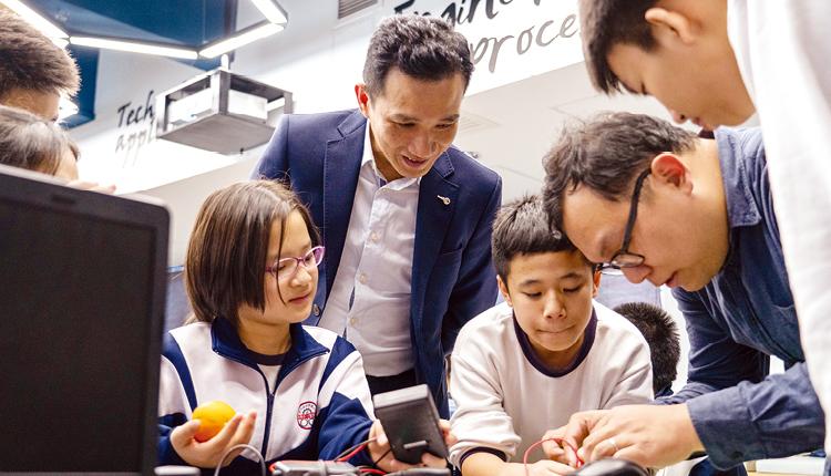 教學加入STEM 元素,讓學生有更多機會應用和實踐課堂所學的知識。