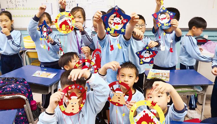 「童創藝術」讓學生參與多元創作活動,培養創作和藝術觸覺。