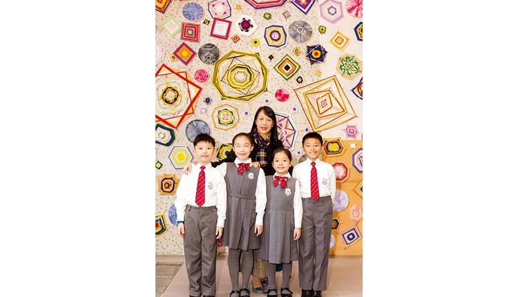 「我們透過多元課程和配套資源,豐富學生生命,讓他們有充實愉快的成長經歷,繼而回饋和服務社群。」 仁濟醫院蔡衍濤小學  陳淑兒校長