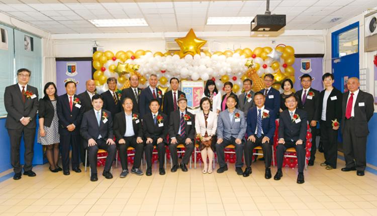 教育局副局長蔡若蓮女士及中聯辦副部長劉建豐博士擔任該校金禧校慶的主禮嘉賓。