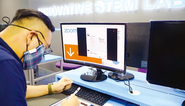 各科老師施展近年進修所得的電子教學策略,以實時教學確保同學能跟上學習進度。
