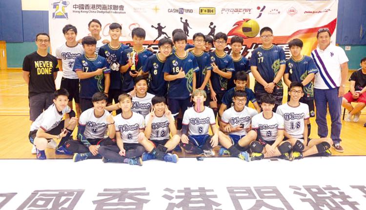 校內閃避球隊獲中國香港閃避球聯會頒發「中學組最強學校」。