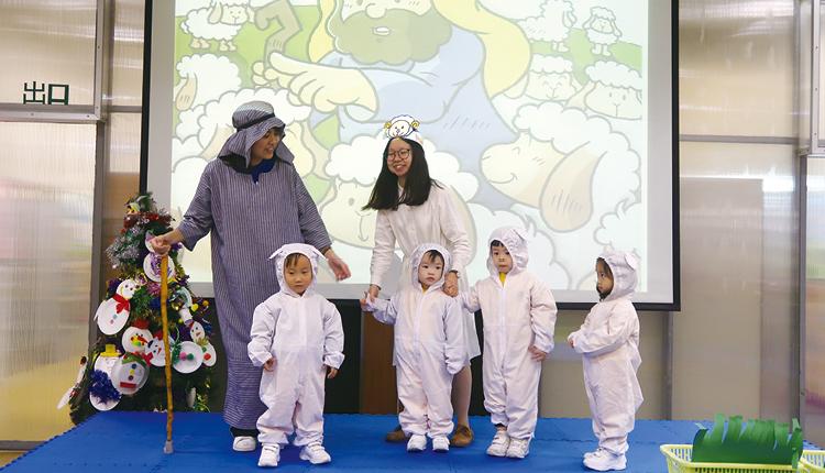 透過戲劇演出,讓小孩得到新視角與新感受,擴闊了思維空間。
