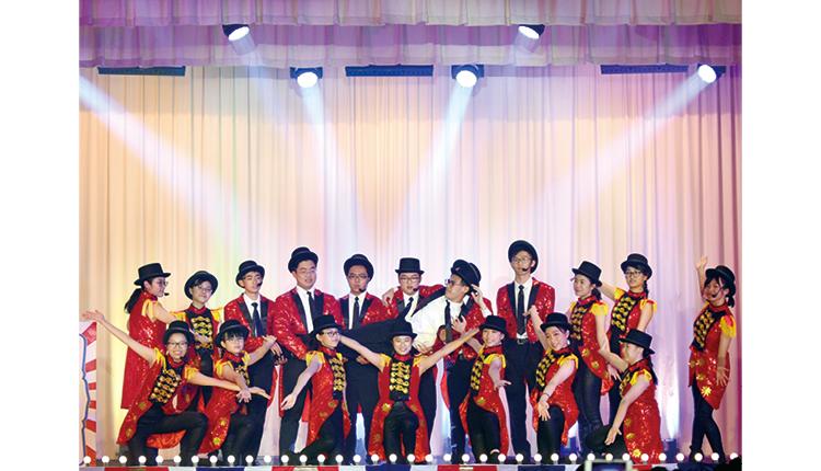 四十周年校慶慶典音樂劇表演