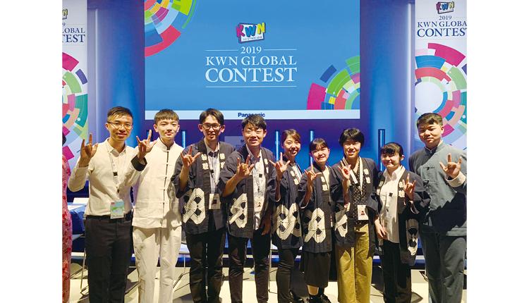 校園電視台屢獲獎項,去年更有作品入圍東京舉行的「KWN GLOBAL CONTEST」。