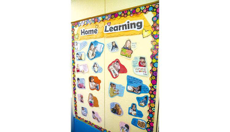學校鼓勵小朋友自主,課程設計盡量不設框架,讓他們可以自由發揮創意。