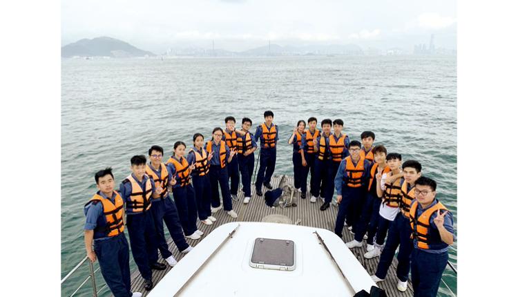 海事青年團出海實習。