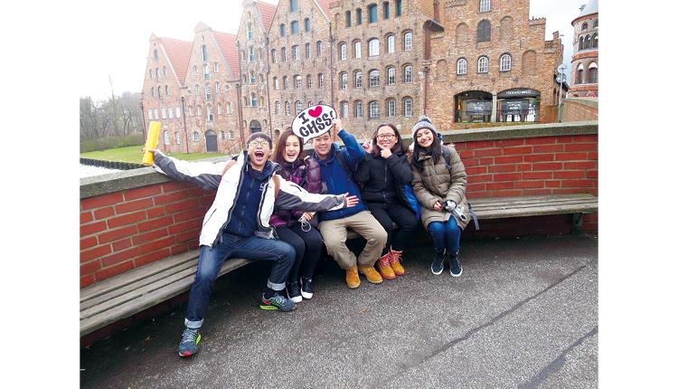 學生前往丹麥、德國、美國、英國等地體驗外國的學習模式,感受外地生活。