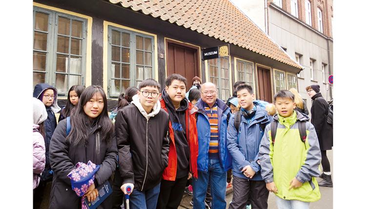 學生前往丹麥、德國、美國、英國等地體驗外國的學習模式,感受外地生活