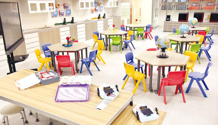 得到優質教育基金的支援下,石小全新STEM室(STEMaker Space)已經落成。
