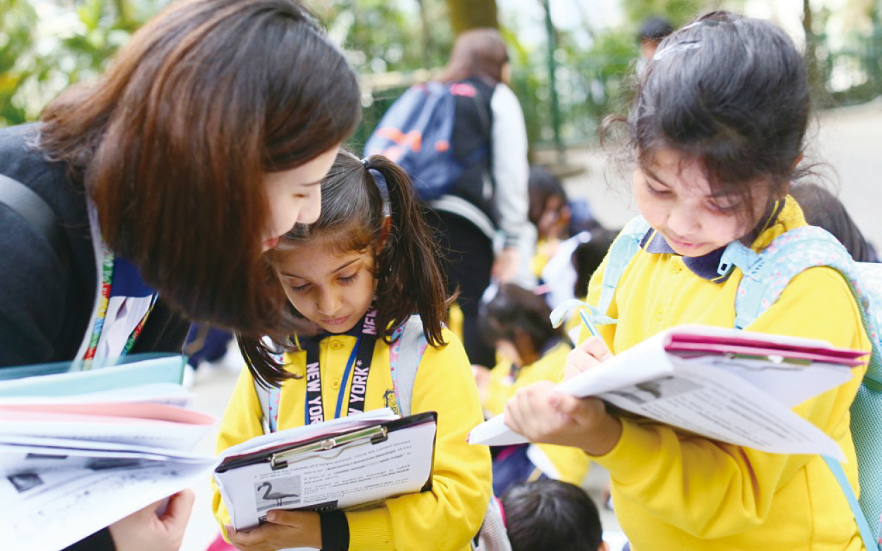 學校重視幼稚園升小階段的銜接期,讓學生能在充滿安全感的環境下學習,對新知識保有興趣,從而培養自主學習的動力。