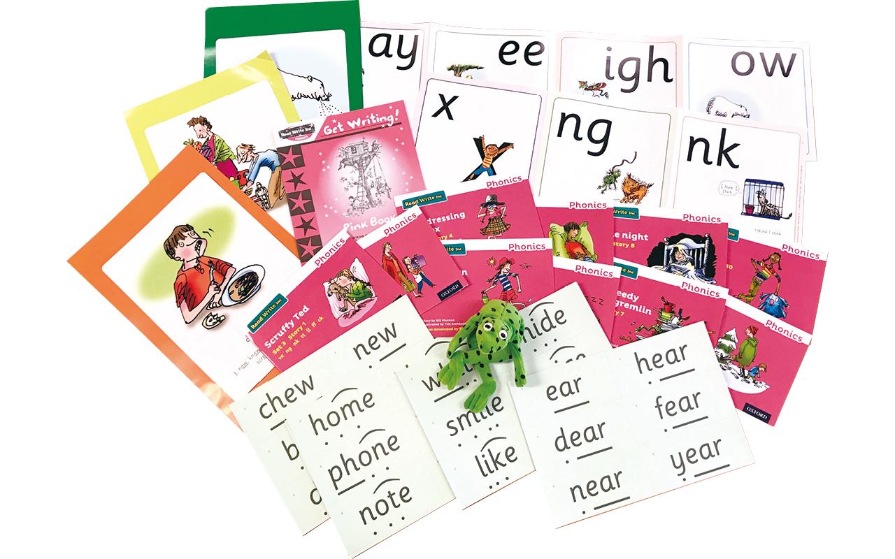 葉小的初小英語特別加入牛津RWI拼讀課程,讓學生運用原音拼合拆解的技巧進行閱讀,奠定英語基礎。