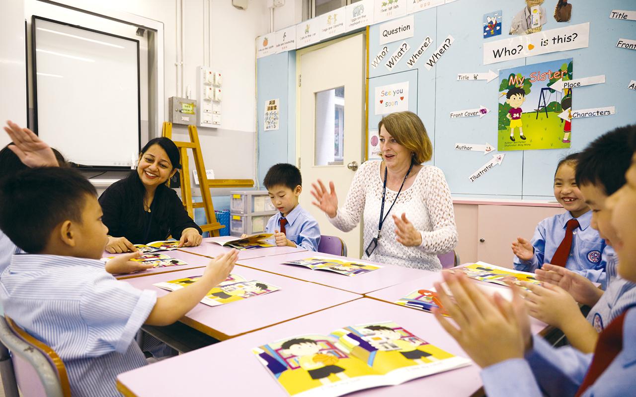 啟基學校(港島)校長鄭惠琪女士表示,透過RWI課程,能為學生建立終身學習的持久性。