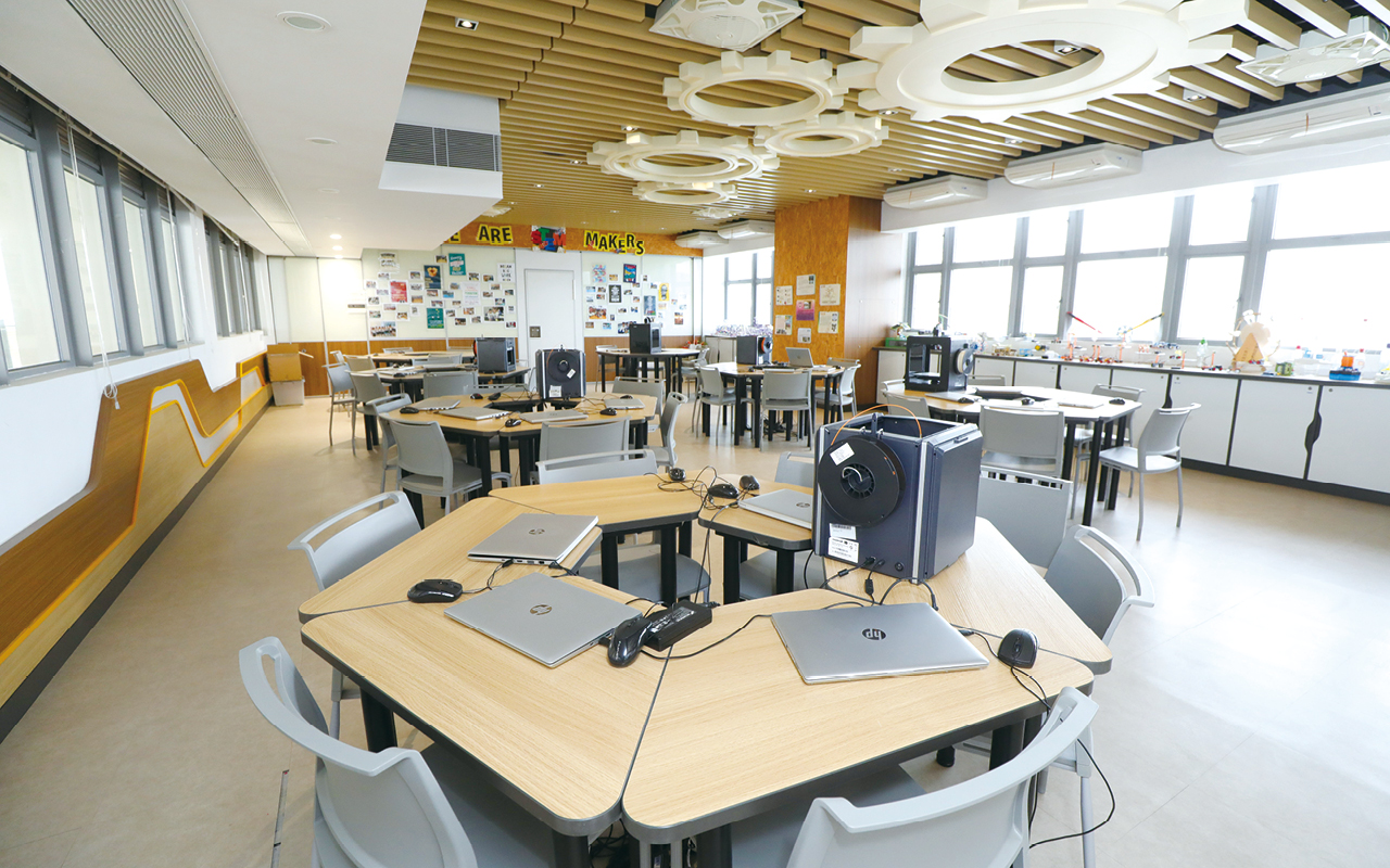 學校旨在成為北區一所理想校園(IDEAL School),並營造真切的英語環境,提升學生英語能力和信心。