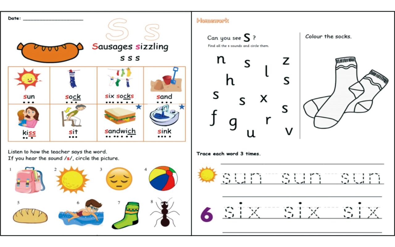外籍老師特別設計初小英語拼音課程,現時設有兩套校本英語拼音課本供一、二年級學生使用。