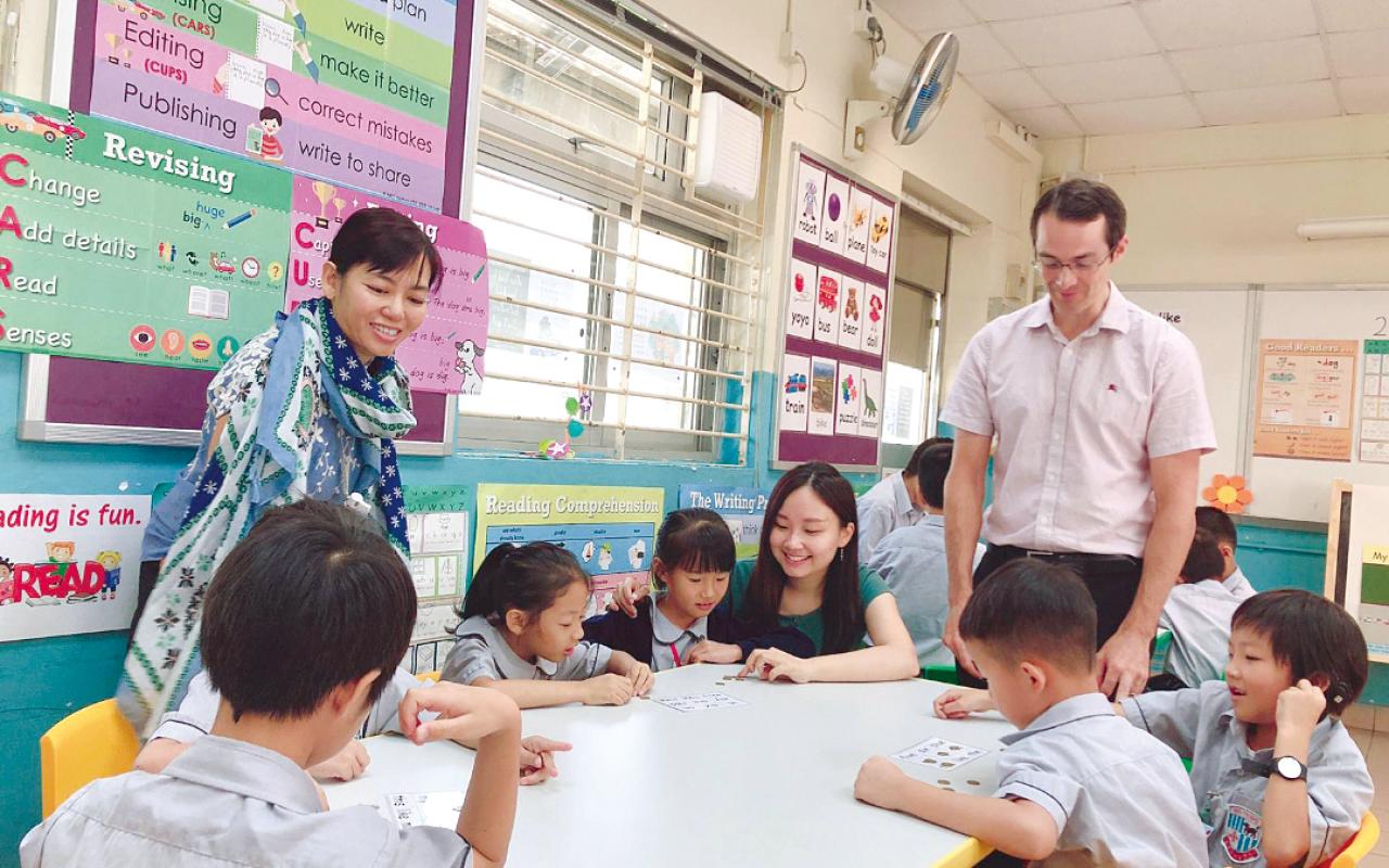 英文科走向常識課著重實踐的概念,讓學生在課堂內外體會到學習的真正樂趣。
