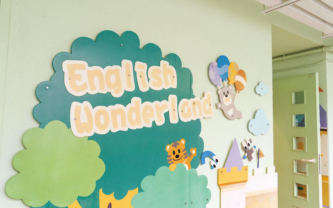 學校精心設計多元活動,營造濃厚英語語境,讓學生大大增加使用英語的機會。