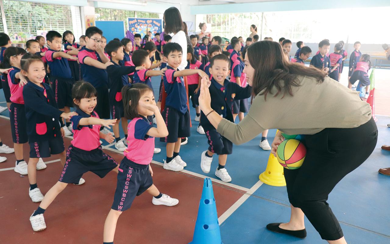 學生高參與班際活動