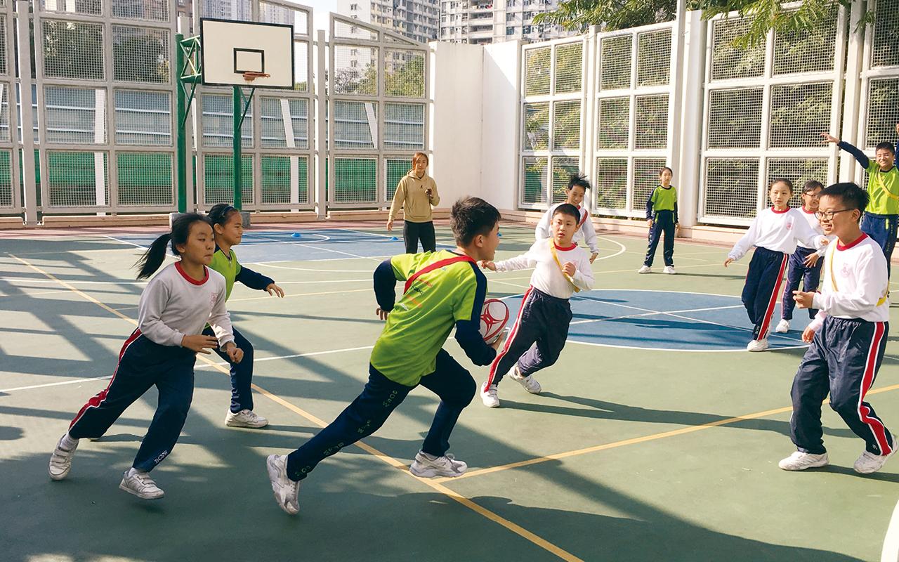 英語欖球- 寓運動於學習