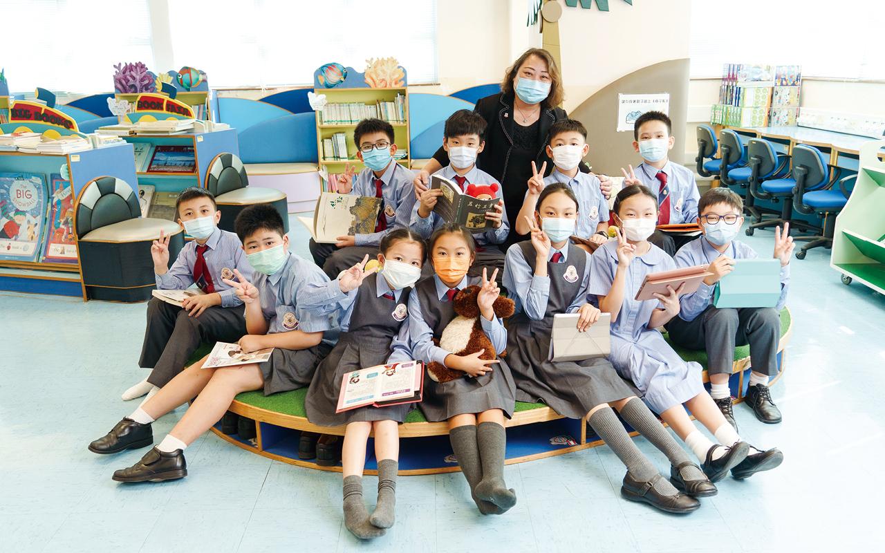 教學團隊在設計英語課程時費盡心思,考慮不同成長階段的學習經歷和需要,加入自學課程及體驗學習活動,真正讓學生把所學語文知識回到生活。