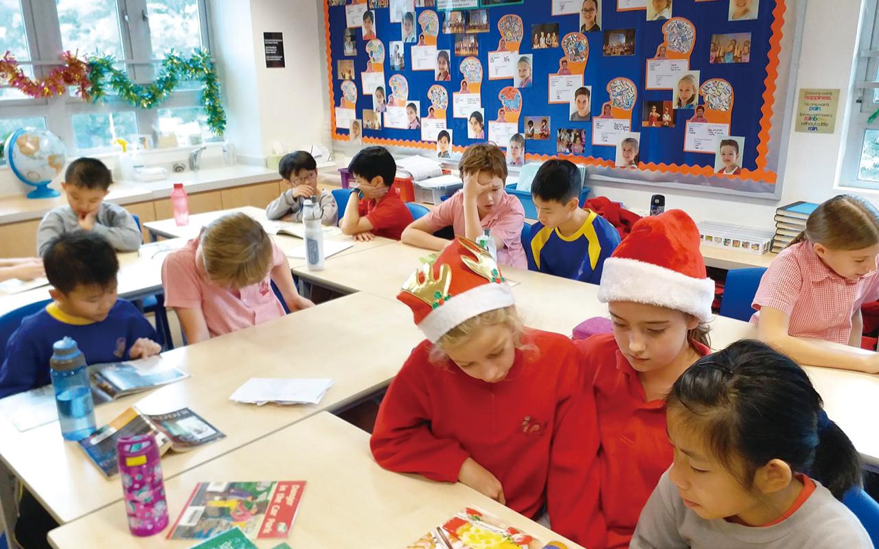 2005年開校以來,該校已經開始與鄰近的國際學校有聯校活動,希望學生可以接觸到外籍小朋友,讓朋輩之間更容易打成一片。