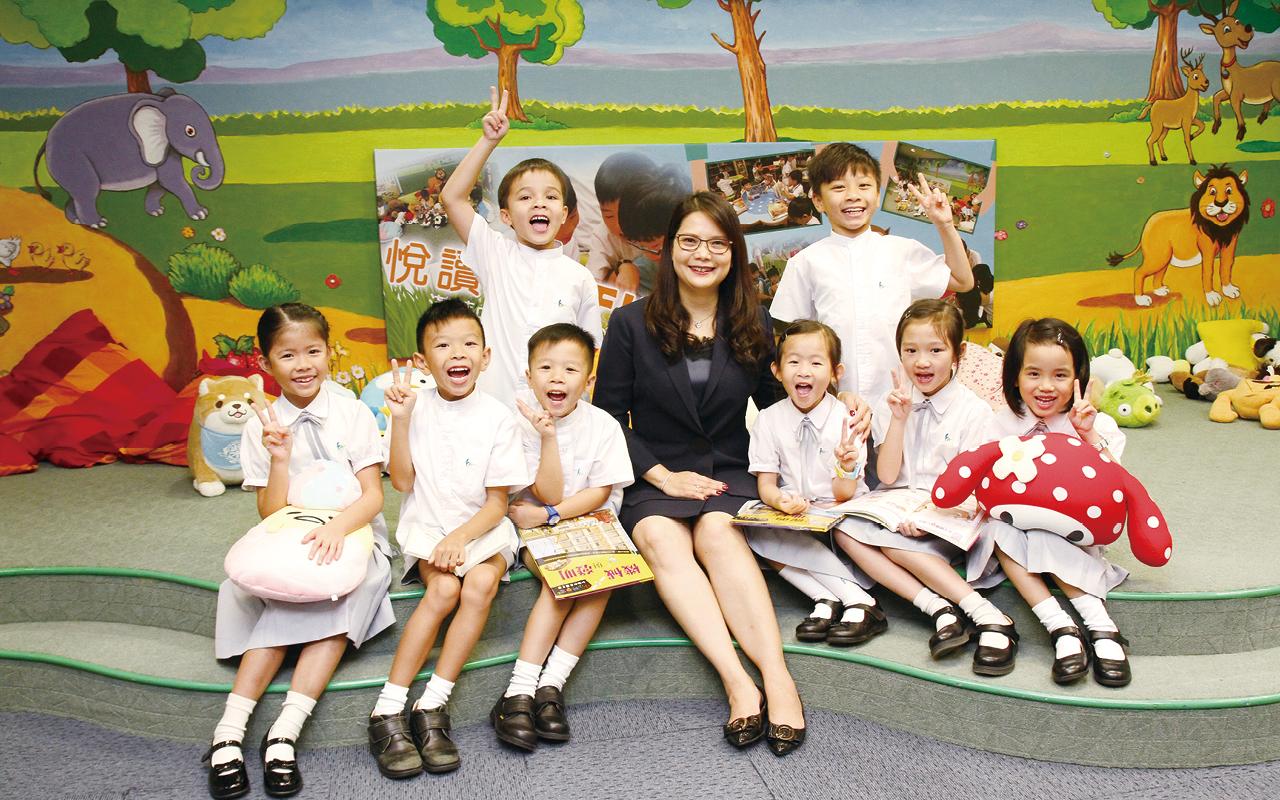 漢華中學(小學部)實踐「資優教育普及化」理念,提供優質教育,注重學生兩文三語,提升學生英普能力。