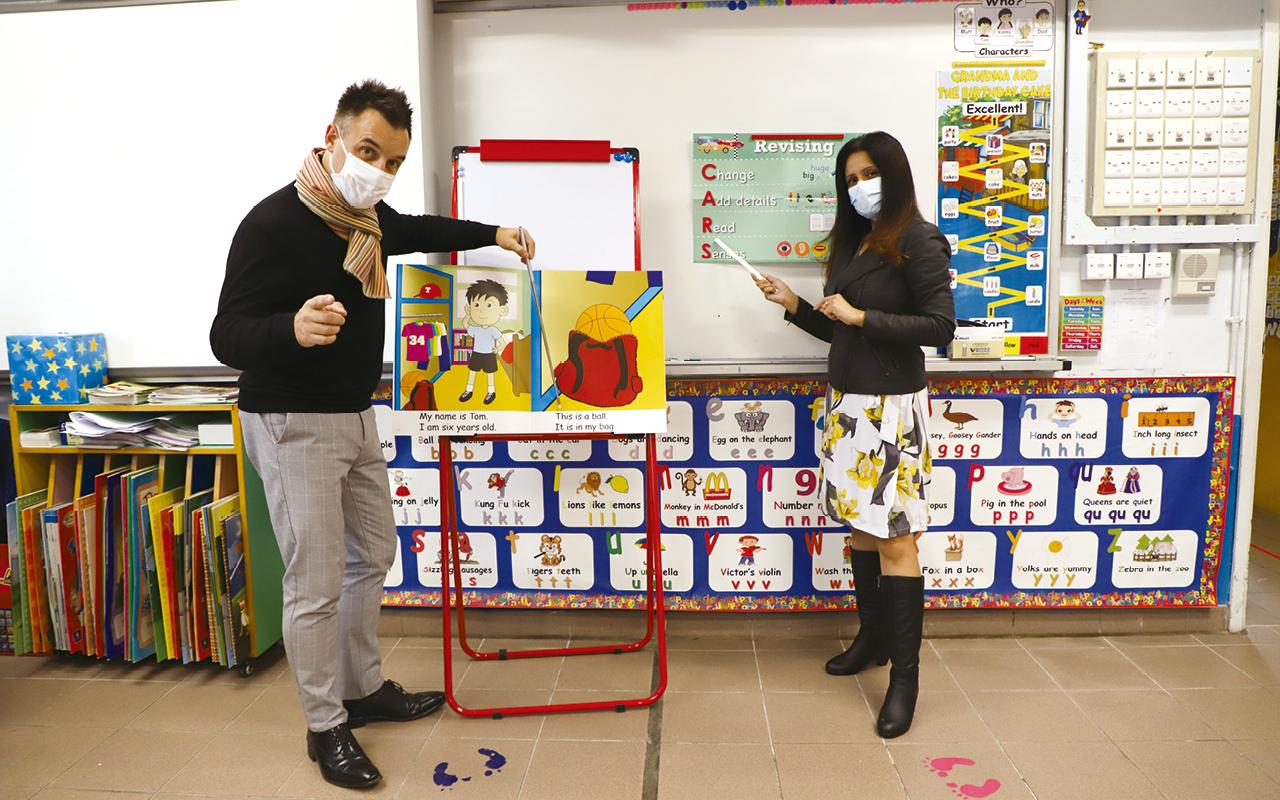 Space Town Literacy Programme由外籍英語老師教授。