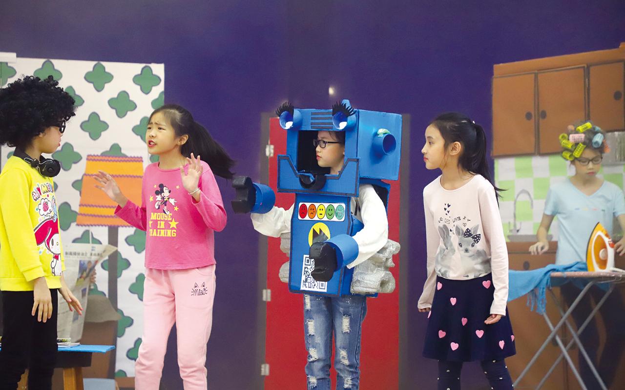 香港學校戲劇節劇目The Pinky Promise。