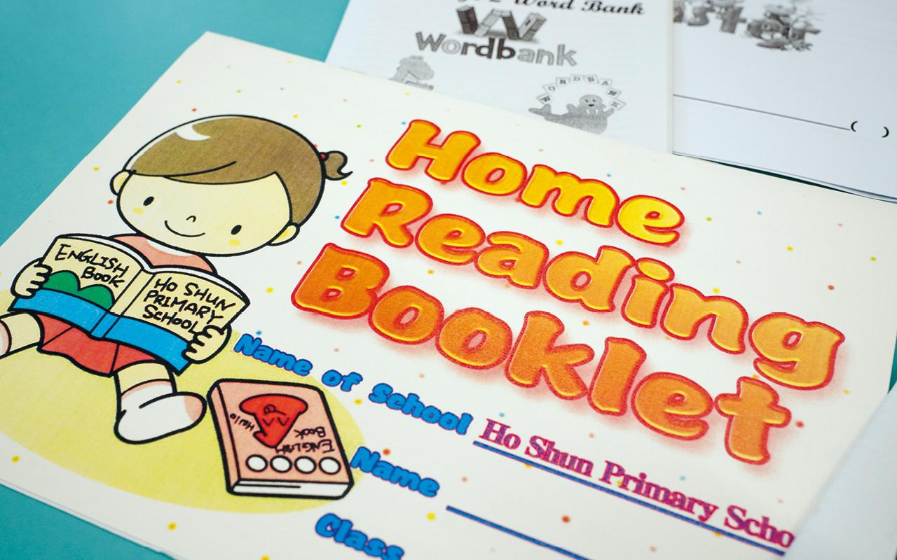 為了鼓勵學生閱讀,可信亦設有Home Reading Booklet,簡單在Booklet上作簡單紀錄即可。